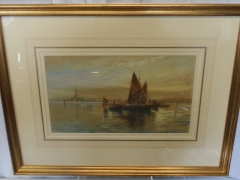 Edward W. Cooke (British) 1811 -1893 Watercolour £550