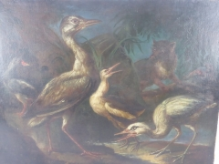 Finnish 17th Century Oil on Canvas £1500
