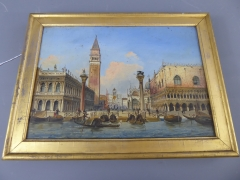 Oil on Canvas of St Marks Square £3800