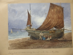 Nathaniel Solly Scetch Book 1811-1895 £900