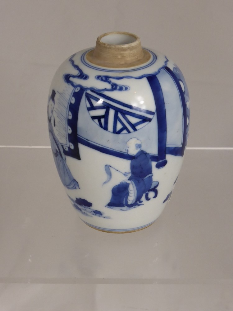 Chinese Blue and White £420