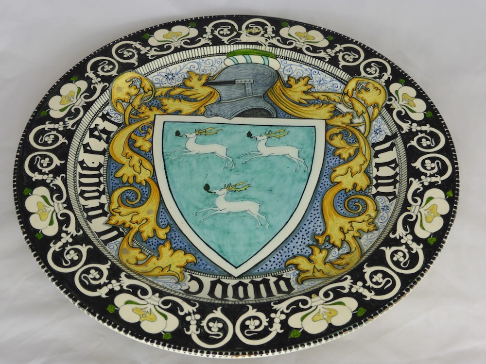 Maiolica Charger £800
