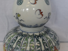 Chinese Double Gourde Vase Yongzheng Mark £750