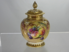 D.Fuller - A Royal Worcester Lidded Jar £280