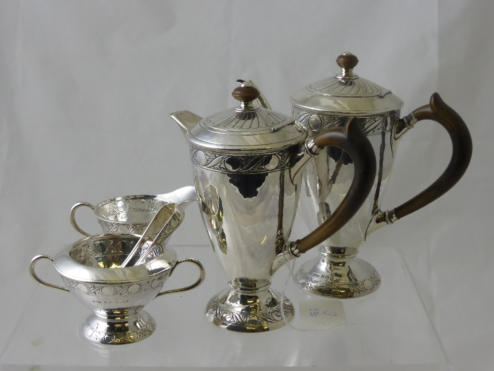 Solid Silver Liberty Coffee Set £850