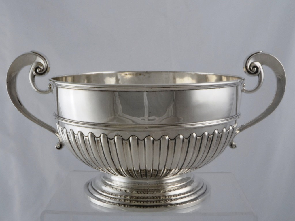 Solid Silver Punch Bowl £1000