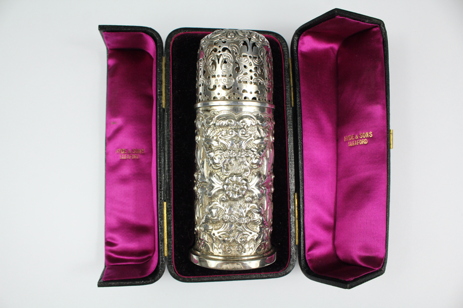 Victorian Silver Sugar Sifter SOLD FOR £460