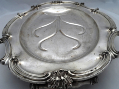 19th Century Silver Plate Meat Server £320