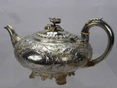Georgian Solid Silver Tea Pot £500