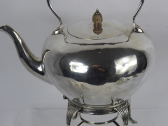 Solid Silver Spirit Kettle £320