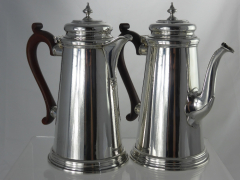 Silver Coffee & Water Pot £300