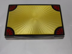 Silver & Enamel Card Case