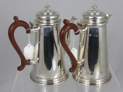 Solid Silver Coffee & Water Jug £320