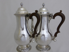 Solid Silver Coffee and Water Jug £480