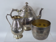 Victorian Scottish Silver Trio £300