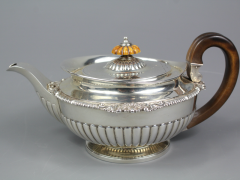 George IV Silver Tea Pot & Milk Jug SOLD FOR £520