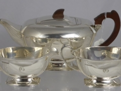 Art Deco Silver Tea Set £520