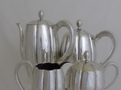 Getruf German Solid Silver Coffee and Tea Set £420