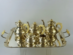 Solid Silver Five Piece Tea & Coffee Set £3500