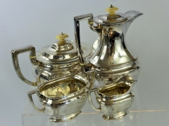 Art Nouveau Solid Silver Tea Set £600