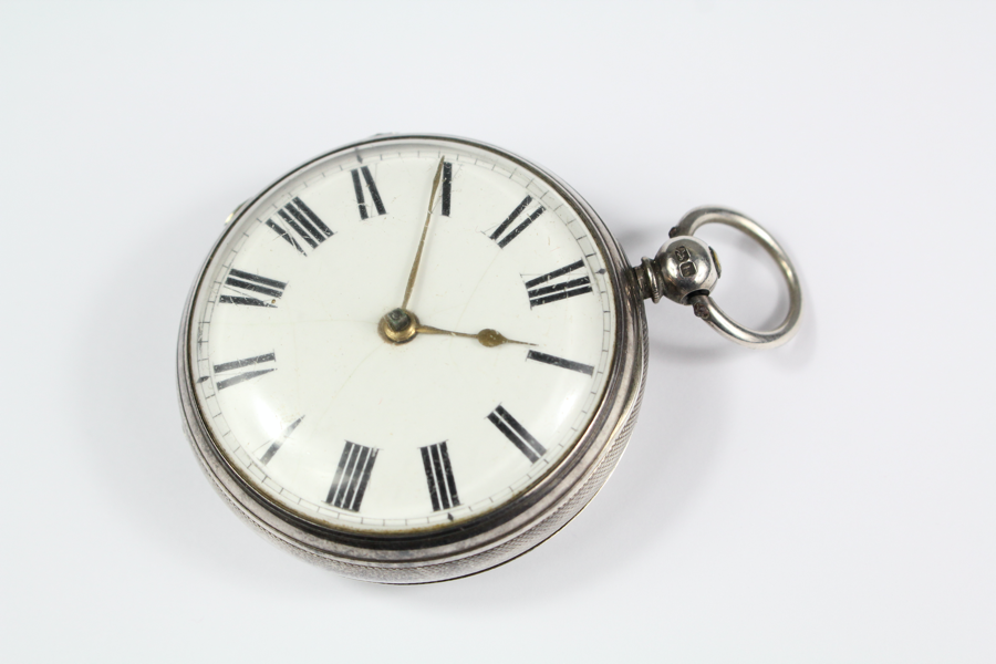 Silver and Enamel Pocket Watch SOLD FOR £340