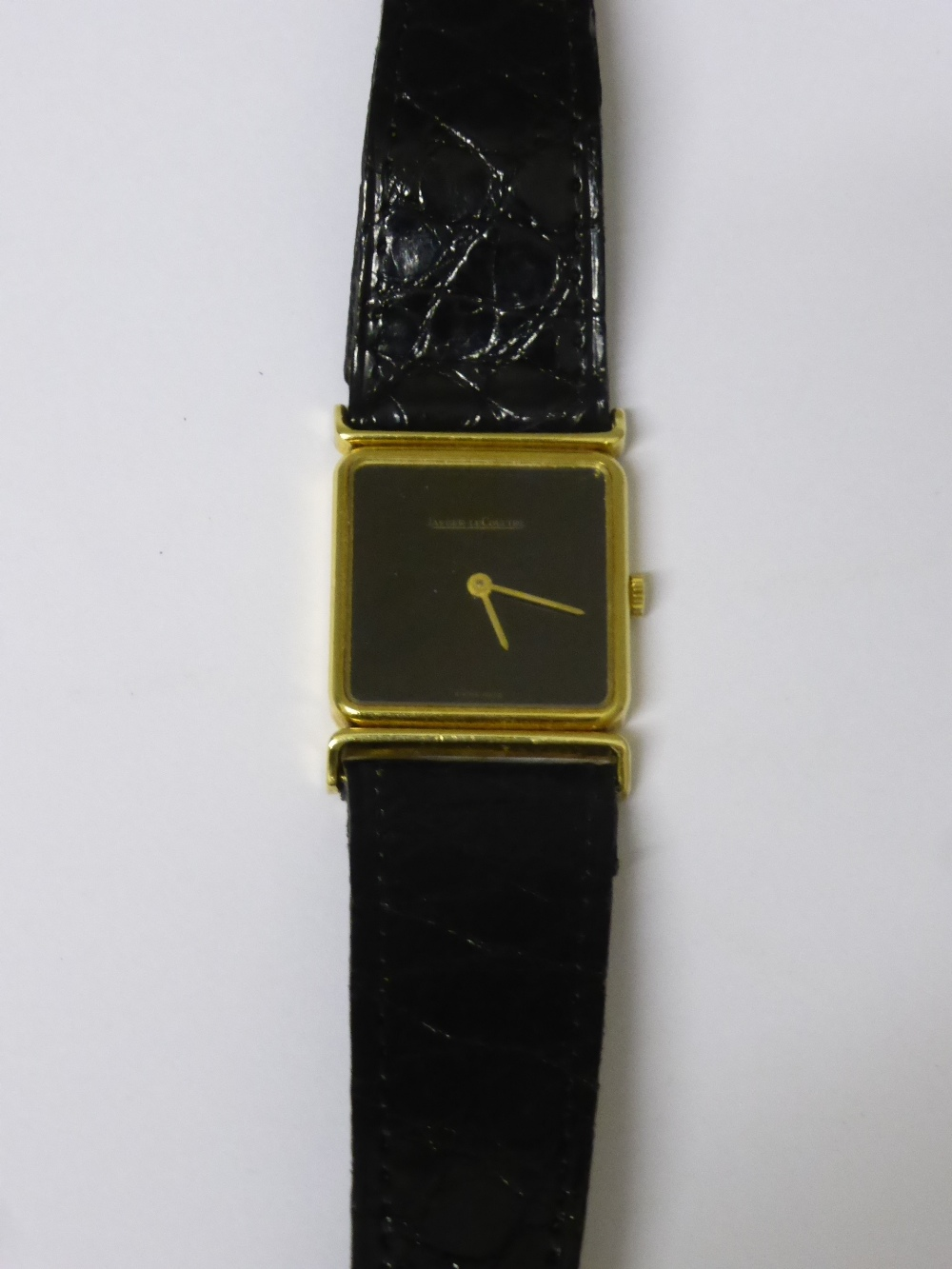 18ct Gold Jaeger le Coultre Wrist Watch £460