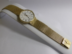 9ct Gold Gentlemans Longines Wrist Watch £400