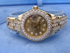 Gold & Diamond Ladies Rolex £14000