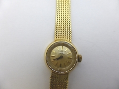Lady's 18ct Gold Omega £400