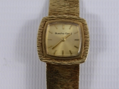 A Gold Bueche Girod 9ct Watch £300