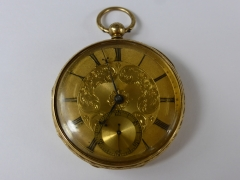 18 ct Gold Pocket Watch £2570