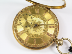 Gowlands Liverpool 18ct Fusee Pocket Watch £920