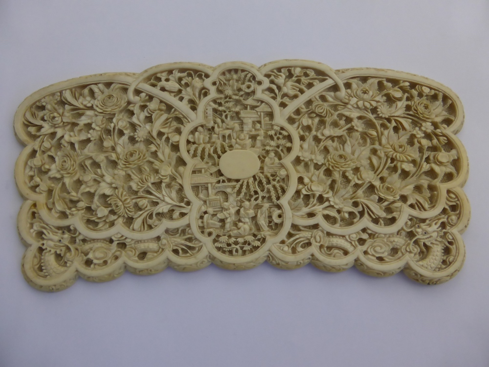 A 19th Century Chinese Ivory Panel £380