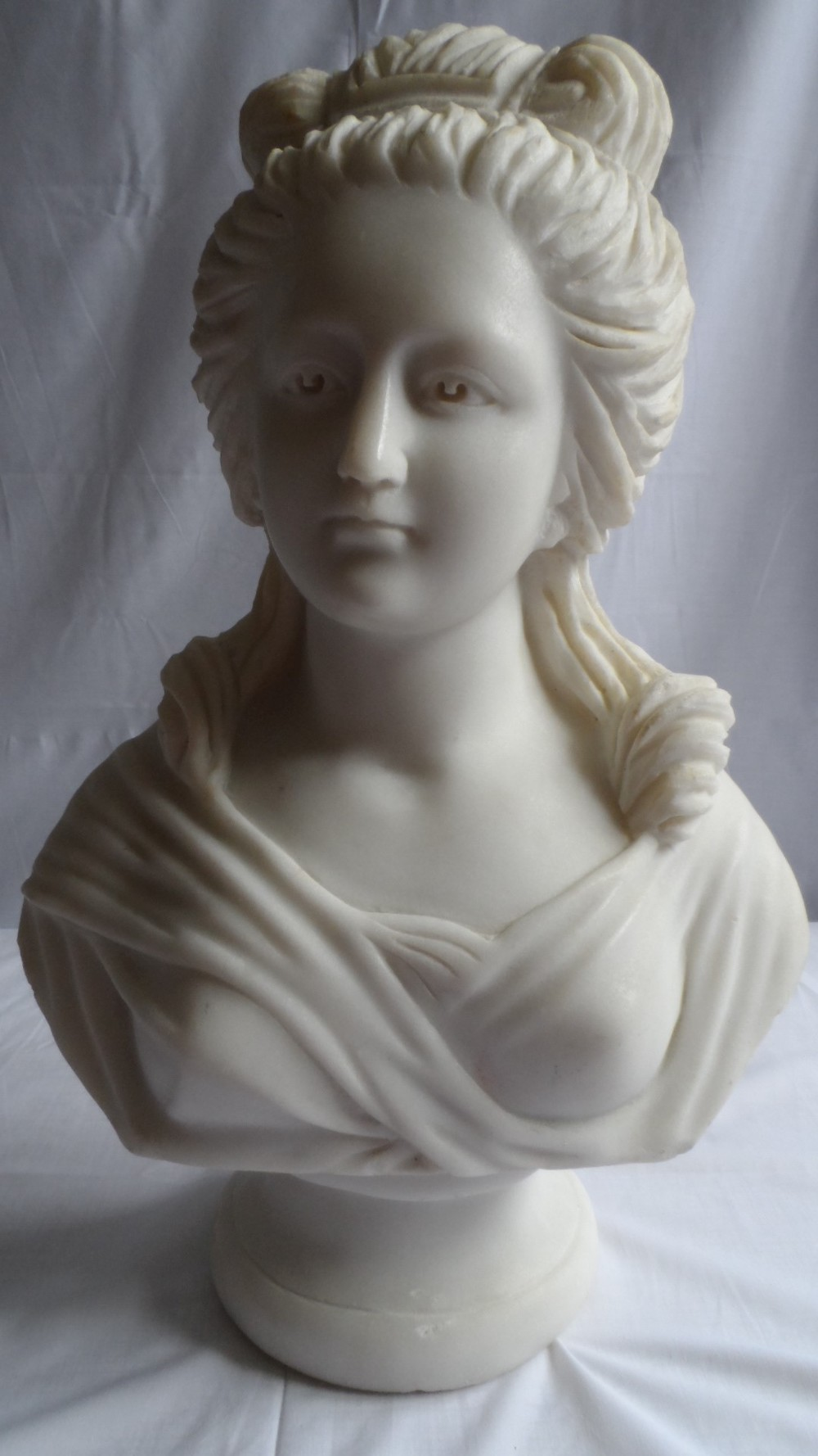 Carved Marble Bust of a Lady £310