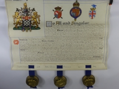 King George V Grant of Arms £420