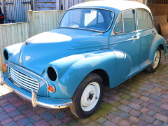 Morris Minor 1000 Cotswold- Blue £4,800
